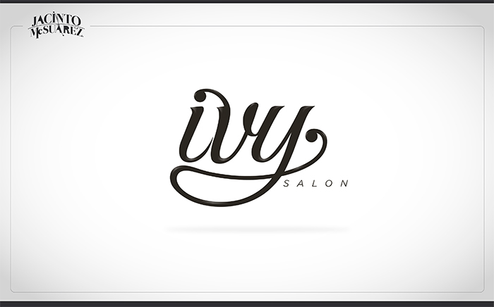 Ivy Salon Branding
